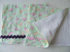 flannel burp cloths