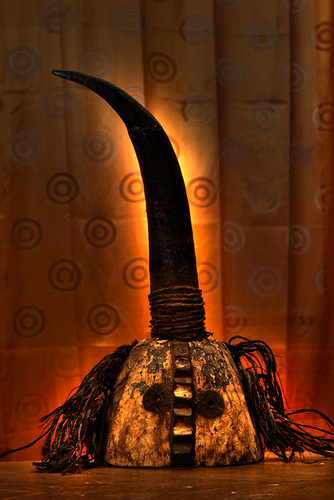 Mossi mask of the horn from Burkina Faso n°1