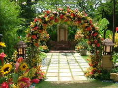 Wedding arch (Blue Fingers) Tags: 2006 laman