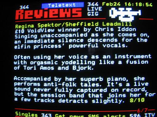 regina spektor review