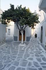 Alone (Historicus) Tags: islands alone loneliness greece analogue nikonf paros cyclades mankind kodakektachrome nikoncoolscan9000ed