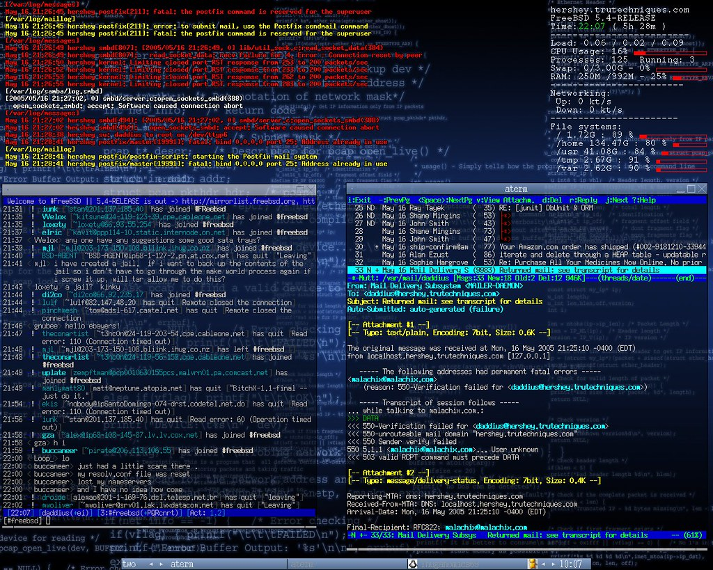 The World's most recently posted photos of freebsd and unix