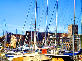 Marseilles - Old Port - interesting place fo a family holiday in France