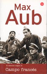 Max Aub, Campo Francés