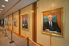 pollies (yewenyi) Tags: portrait building architecture paintings australia parliament government aus pc2600 capitalhill act parliamenthouse oceania australiancapitalterritory auspctagged seatofgovernment pollies poloticians