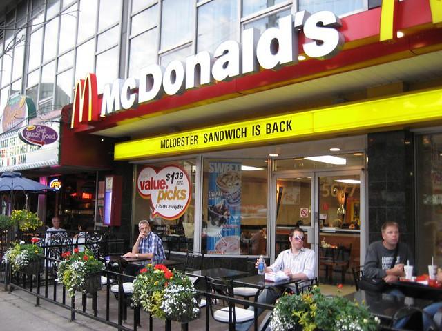 McDonald's McLobster sandwich is back