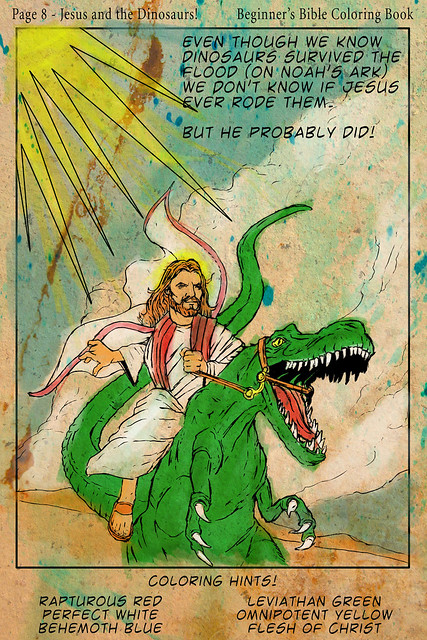 Beginner's Bible Coloring Book! Dad, did dinosaurs really exist?