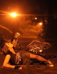 Bobsled (EthanPDX) Tags: crash whiskey minibike zoobomb