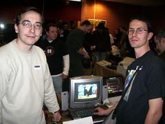 Utopian y Tony Brazil en MadriSX 2007