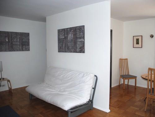 Futon sofa & dining room set- SOLD