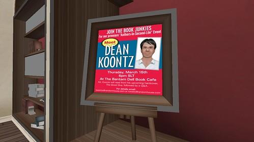Dean Koontz in Second Life 002