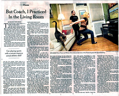 New York Times Wii