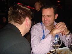 Talking Shop (catuna) Tags: jason december lulu 2006 christmasparty graham matchpoint sygn