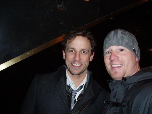 seth meyers snl. Seth Meyers, SNL head writer