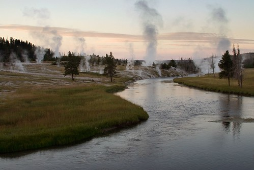 Morning on the Firehole River