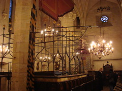 Inside the Old New Synagogue