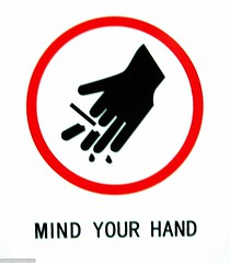 Mind your hand