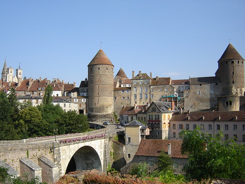 Semur en Auxois  Burgundy  France by OliverMartin, on Flickr