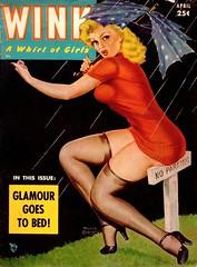 Wink - 1952 04 - Peter Driben Cover Art (kocojim) Tags: art illustration magazine cover wink girlie pinup kocojim driben peterdriben