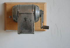 sharpen (emdot) Tags: wall pencil sharpener librariesandlibrarians ll100