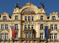 ltstdter-Ring-Palais in Prague (fotomanni.de) Tags: prague prag praha tschechien czechrepublic flickruploads