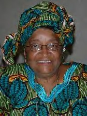 Ellen Johnson-Sirleaf, President of the Republic of Liberia. The west African nation has been a focal point in the international traffic of illegal diamonds. by Pan-African News Wire Photo File