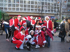 Santarchy in Shibuya 2006