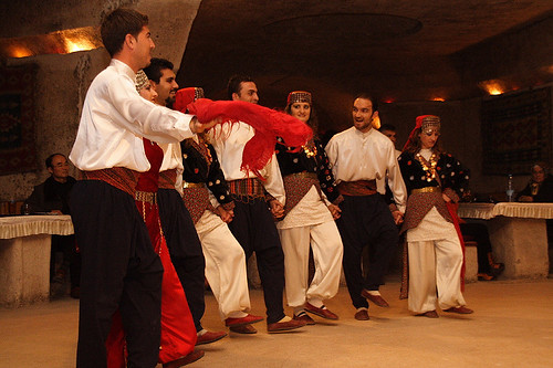 土耳其婚禮上的舞蹈