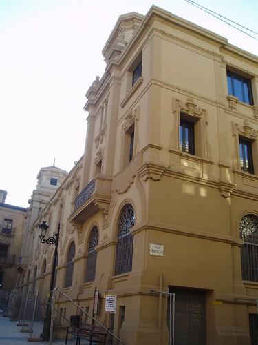 Edificio de Correos en la Plaza de San Agustín