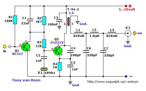 30-Meter QRP Transmitter for Morse Code