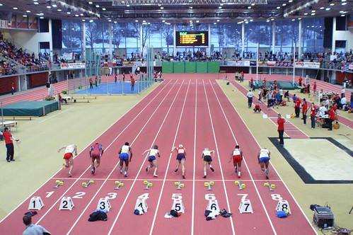 "Linz - World Master Veterans Athletics Championship Indoor - Starting. • <a style=""font-size:0.8em;"" href=""http://www.flickr.com/photos/26679841@N00/333074075/"" target=""_blank"">View on Flickr</a>"