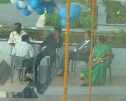 sivaji shoot rajini in Pune