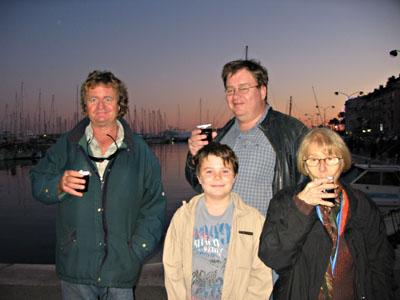 Vin chaud sur le Vieux Port