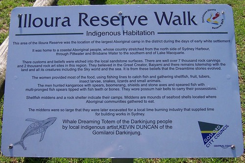 Illoura Reserve Walk Indigenous Habitation