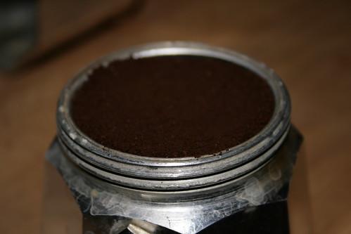 gefüllt mit bestem Kaffee