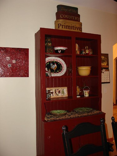 Vintage Pine Cupboard Redo