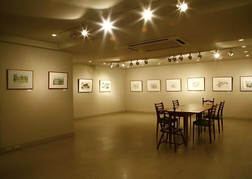世良美術館地下1階(ギャラリー)