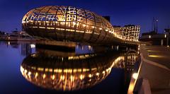 Docklands (dogonnit) Tags: bridge reflection australia melbourne victoria docklands