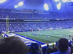 Colts beating Dolphins