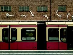 S-Bahnhof Westhafen (stoha) Tags: streetart berlin train sbahn westhafen berlino sbahnhof berlintiergarten guessedberlin stoha gwbdocsnyder