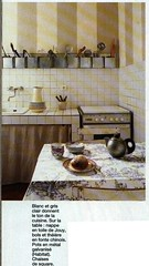 a shabby chic kitchen (TeaButterfly) Tags: white inspiration home kitchen grey design interior chic offwhite decor shabby apartmenttherapycure