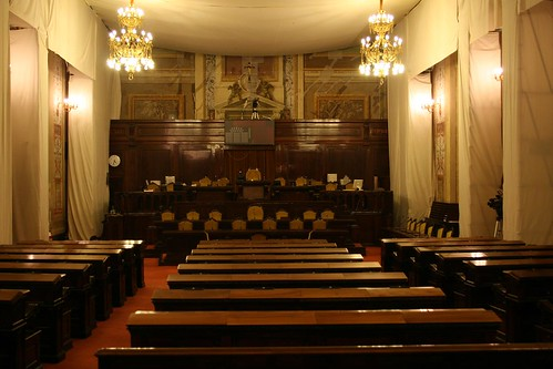 The seat of the Sicilian Parliament
