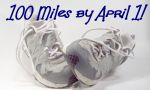 100 miles by April 1