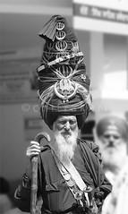 Akali Nihang Singh (Chitrakari) Tags: portrait india interestingness cool searchthebest explore weapon u canon350d turban sikh punjab shiva hindu akali fpg quiot nihang anawesomeshot impressedbeauty budhadal superbmasterpiece diamondclassphotographer blackribbonbeauty ysplix amazingamateur bachspicsgallery
