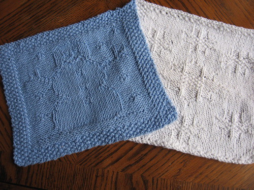 Winter Dishcloths