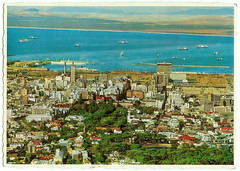 Cape Town CBD, 1969 (mallix) Tags: old holiday vintage southafrica postcard memories memory era change 1970 1960s worldcup 1970s apartheid 2010 1960 tableview soccerworldcup worldcup2010 capetowncbd 1969capetown fifa2010