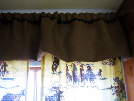 Kitchen Curtains Close Up