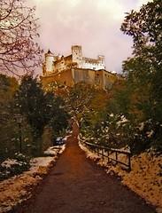 Salzburg Castle, Austria (Kaafoor) Tags: venice italy salzburg rain germany munich austria pakistani munchen venezia germanytrip adeel thesoundofmusic karachite karachiite