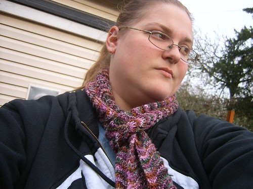 me and my scarf!