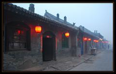 Dusk (NowJustNic) Tags: china street nikon dusk edited unescoworldheritagesite lanterns  shanxi pingyao   d80 nikkor18135mm